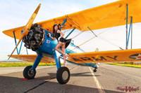 Wings of Angels Updraft Jessie Stearman Biplane Print Malak