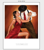Tango Cortina, Color Print Ray Leaning
