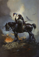 Death Dealer Print Art by Frank Frazetta