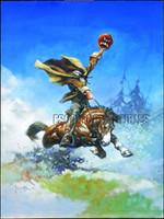 Headless Horseman Print Art by Frank Frazetta