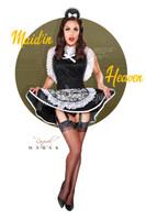 Raquel Pomplun Maid in Heaven Print Malak