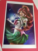 Sailor Jupiter Signed Print Cris Delara