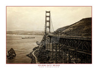 Malak Golden Gate Bridge Sepia