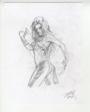 Cris Delara Female Wolverine