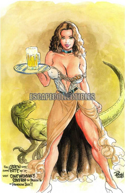 Cavewoman Bar Wench Budd Root