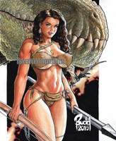 Cavewoman TRex Edition