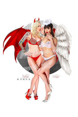 Heaven and Hell Claire Sinclair and Sabina Kelley
