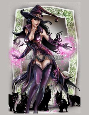 Purple Witch Delara