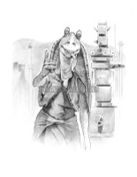 Jar Jar Star Wars