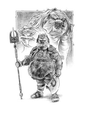 Guard Rancor #2  Star Wars