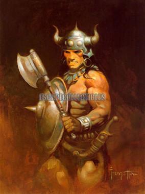 Frazetta Warrior