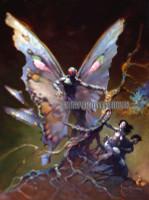 Moth-man Frazetta