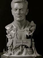 Frank Frazetta Tribute Bust