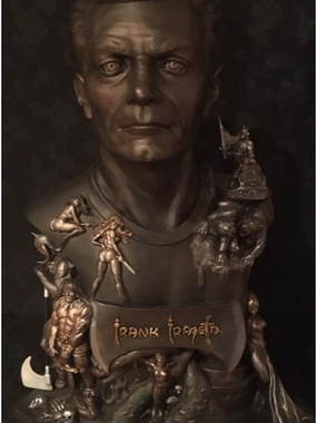 Frazetta Tribute Bust