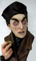 Painted Nosferatu Full  Bust