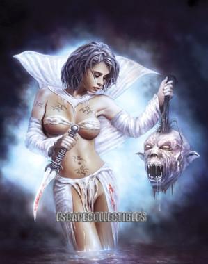Al Serov Judith Through a Glass Darkly