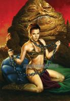 Jusko Star Wars Slave Leia
