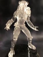 Stealth Clear Predator Figure Model microMANIA