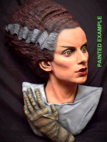 Bride of Frankenstein 1:1 Scale Unpainted Wall-Hanger