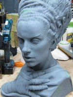 Bride of Frankenstein Bust