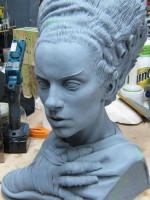 Bride of Frankenstein Bust