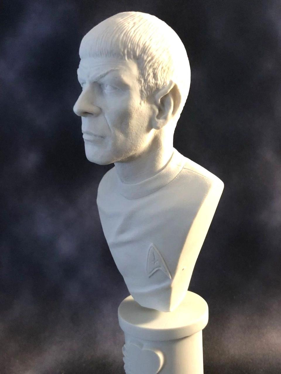 Leonard Nimoy Tribute Bust Star Trek Model microMANIA™