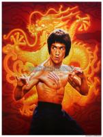Bruce Lee Tribute Print Den Beauvais ns