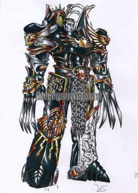 Aurelio Lecis Concept Art