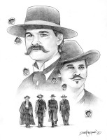 Tombstone Original Art Nestler