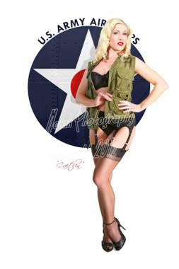 Caitlin US Army Air Corps