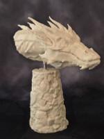 Smaug Dragon Bust