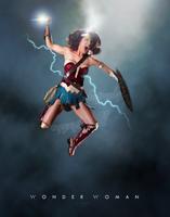 Raquel Pomplun as Wonder Woman