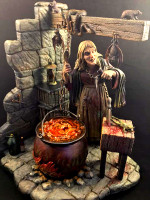 The Witch Aurora tribute Model Kit