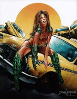Dave Nestler Witchblade 75 Alternate Comic Book Cover Print