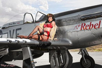 Malak Wings of Angels Jen Rox The Rebel IV WWII P-51D Mustang