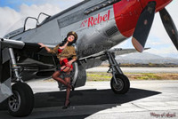 Malak Wings of Angels Jen Rox The Rebel V WWII P-51D Mustang
