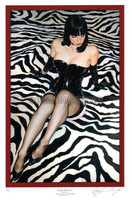 Ray Leaning Jessica Revisited Limited Signed & Numbered #/50 Pin Up Art 17X25