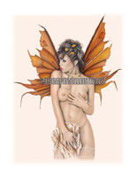 Whisperz Pin Up Art Print Barbara Jensen