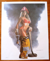 Dave Nestler Face the Fire Limited Edition Print