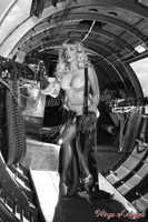 Wings of Angels 2 Caitlin at Guns WWII B-17G Flying Fortress