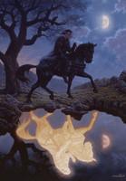 Dark Knight Signed Print Jonathon Earl Bowser