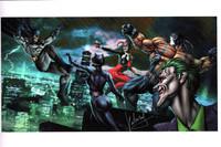 Gotham Madness Print Carlos Valenzuela ns
