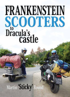 Frankenstein Scooters to Dracula's Castle by Martin 'Sticky' Round