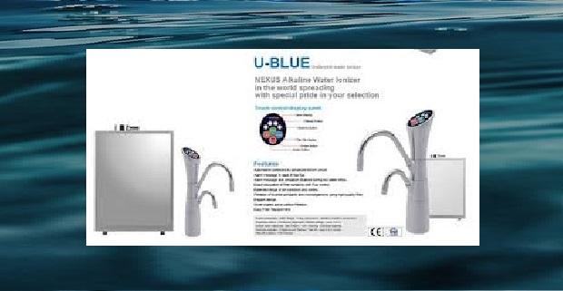 Nexus U Blue Under Sink Water Ionizer Alkaline Water Plus
