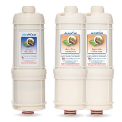 H2 Series UltraWater Replacement Filter-Set (With Extra Fluoride Removal)