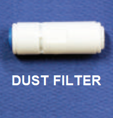 1/4 Inch Quick-Connect Dust Filter for Catching Sand & Sediment