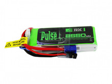 Pulse 2550mAh 2S 7.4V 15C - Receiver Battery PLURX15-25502