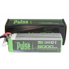 Pulse Lipo 5000mAh 22.2V 35C- Ultra Power Series PLU35-50006