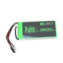 Pulse Lipo 3600mAh 7.4V RX- Ultra Power Series [PLURX-36002]