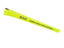 SAB Carbon Fiber Tail Boom Yellow - Goblin 630 Competition H0363-S